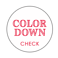 COLOR DOWN ボタン