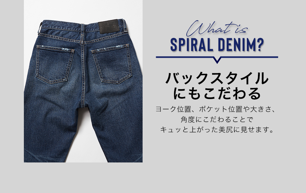 What is SPIRALDENIM?