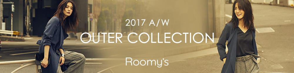 2017 A/W Roomy's OUTER COLLECTION
