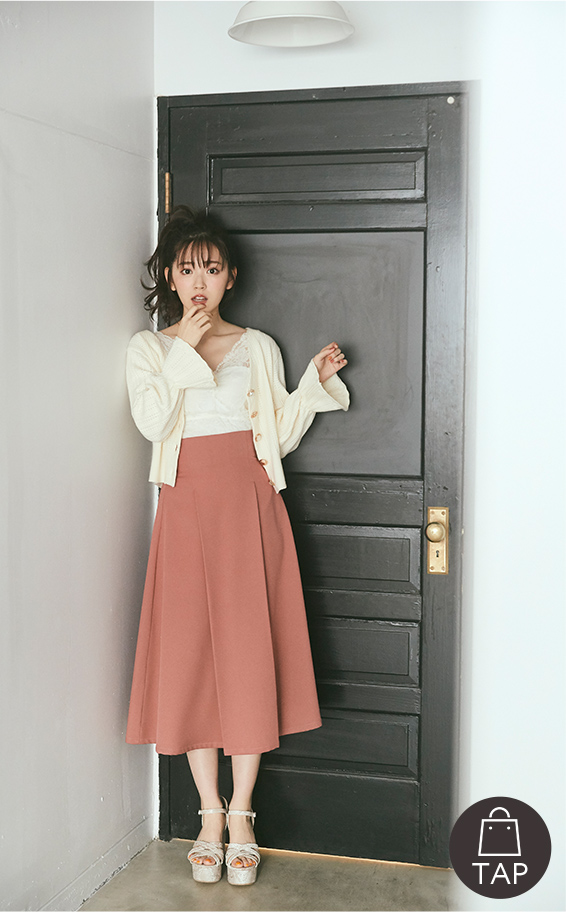 MIIA × 鈴木愛理 collaboration vol.2 cardigan